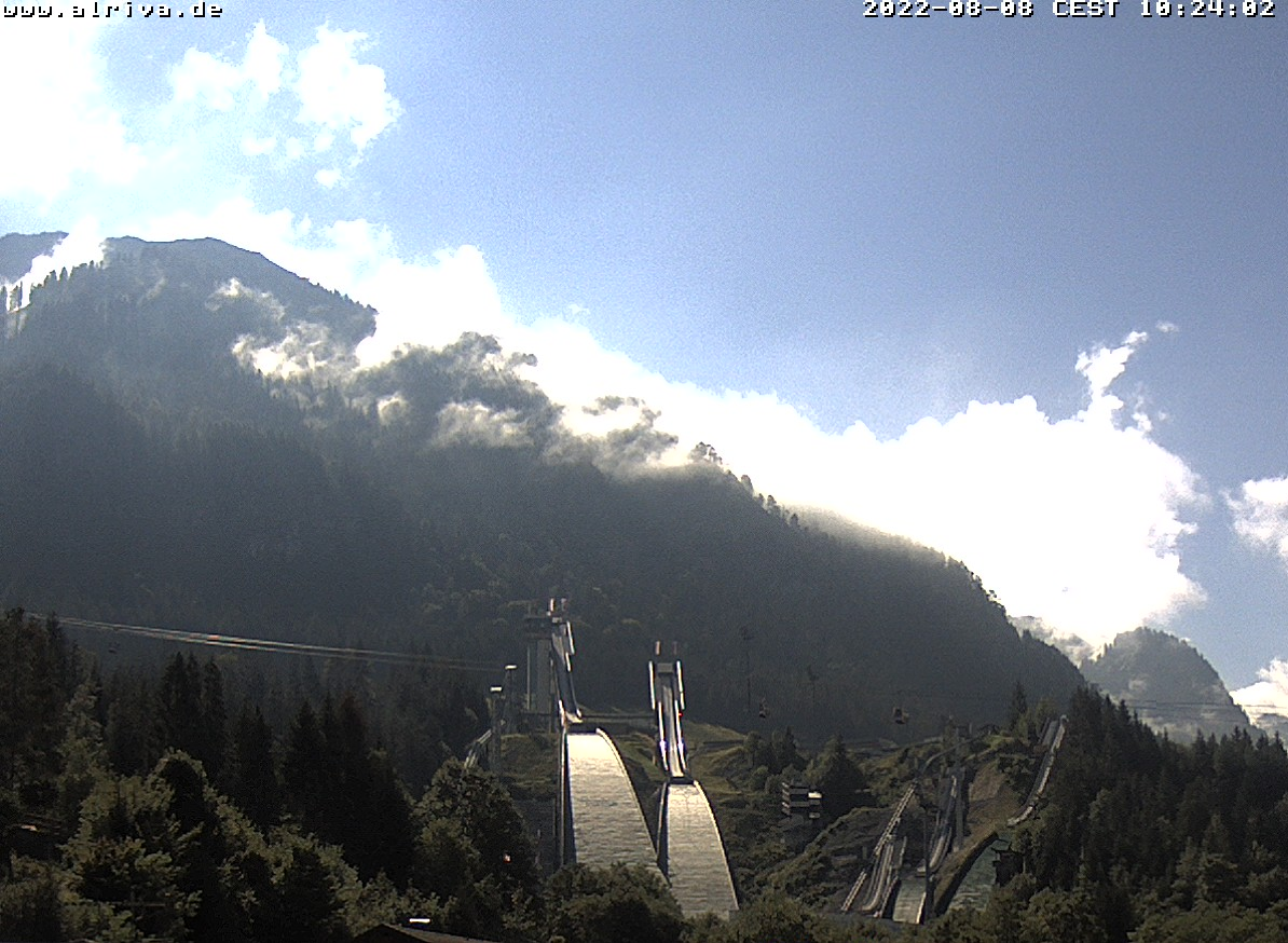 Webcam Skisprungschanze