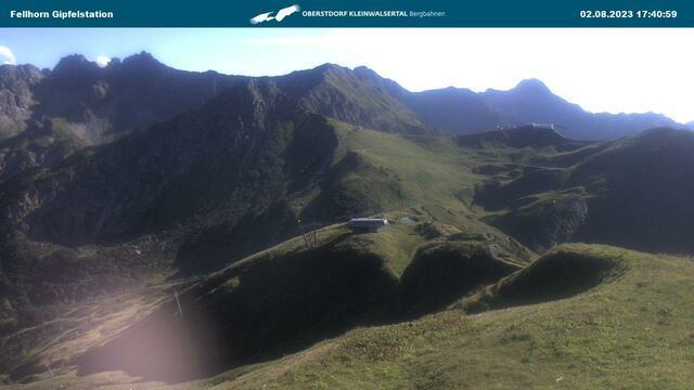 Webcam Fellhorn-Gipfelstation