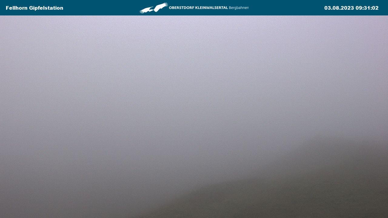Oberstdorf - Felhorn - Gipfelstation