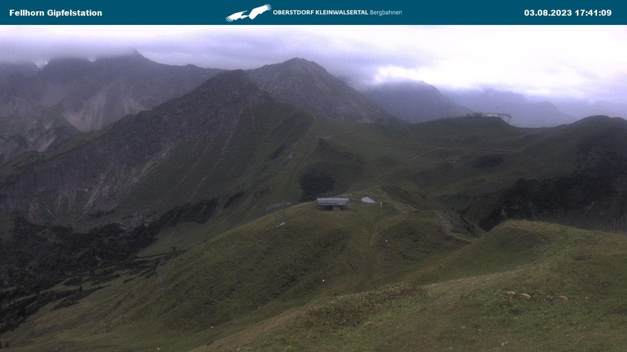 Webcame: Fellhorn Gipfelstation