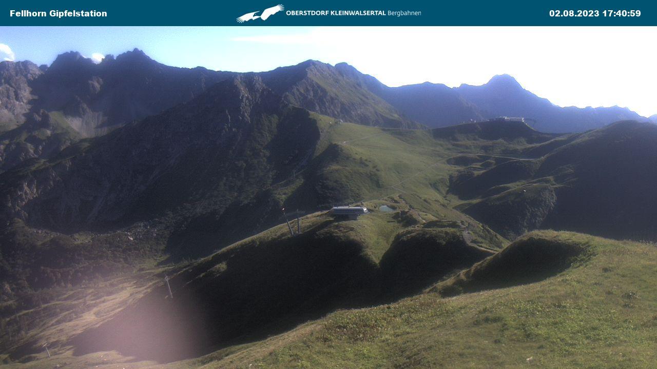 Webcam Fellhorn: Gipfelstation