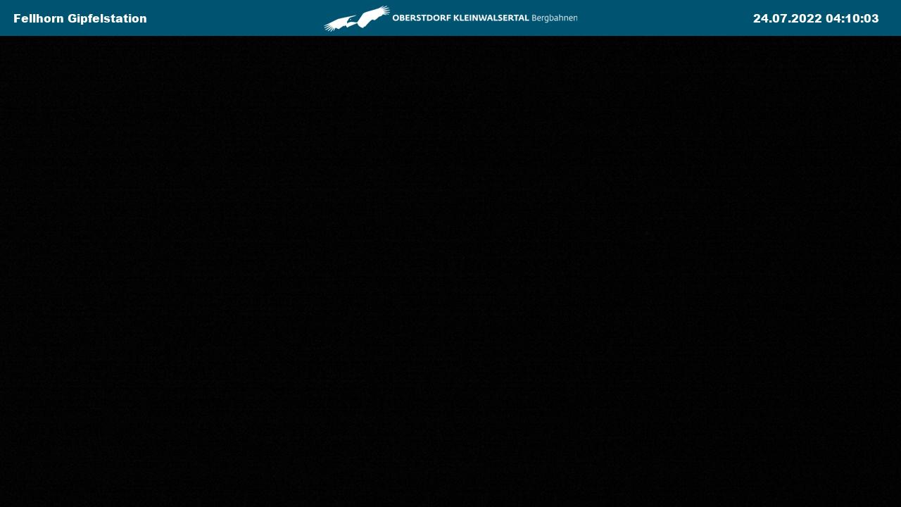 Webcam Fellhorn: Gipfelstation