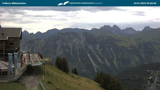 Webcam Fellhorn Mittelstation