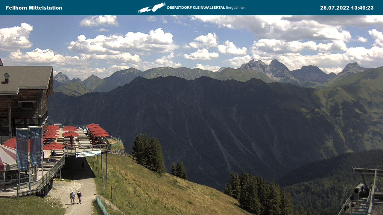 Webcam Fellhorn-Mittelstation
