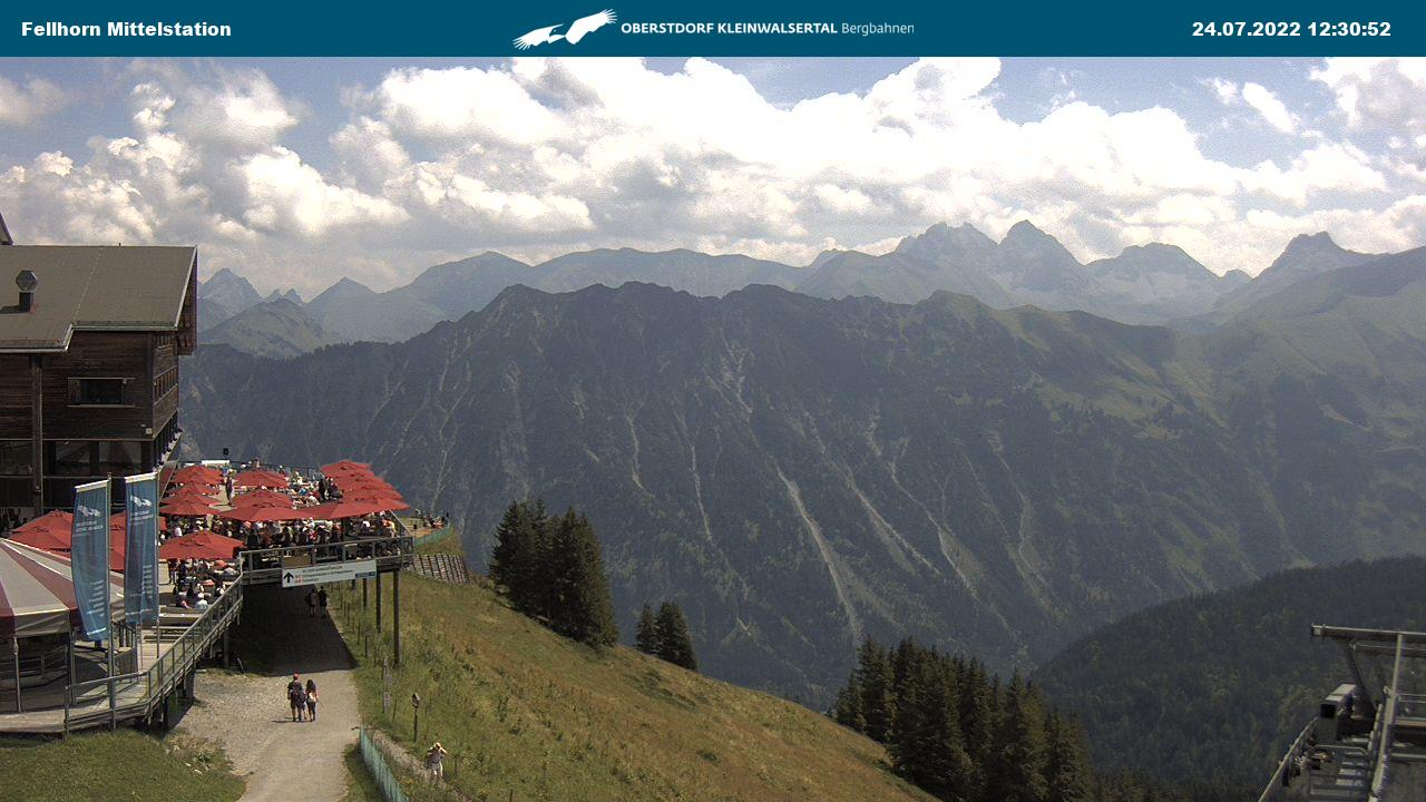 Webcam Fellhorn Station Schlappoldsee
