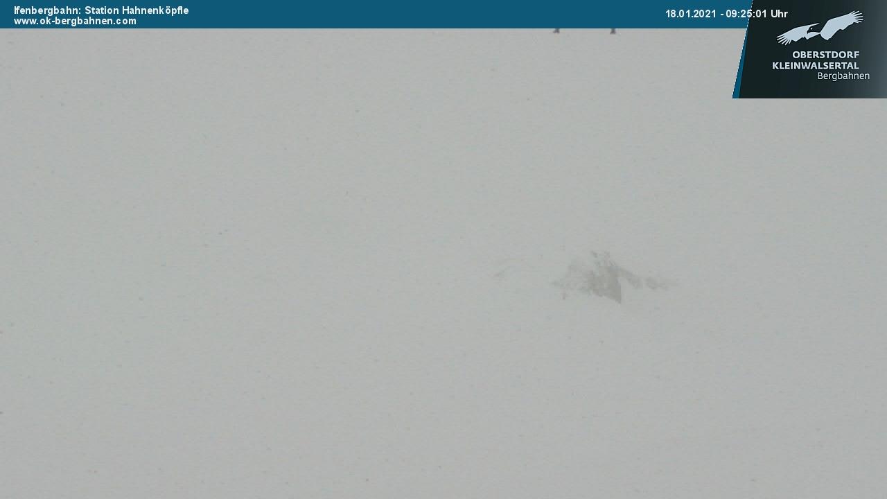Webcam nell area sciistica Hirschegg Ifen