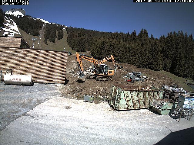Efen Bergstation Blickrichtung: Gottesaker und Rietzlern