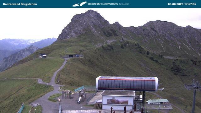 Webcam der Kanzelwandbahn