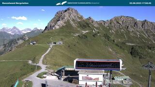 Kanzelwand: Bergstation