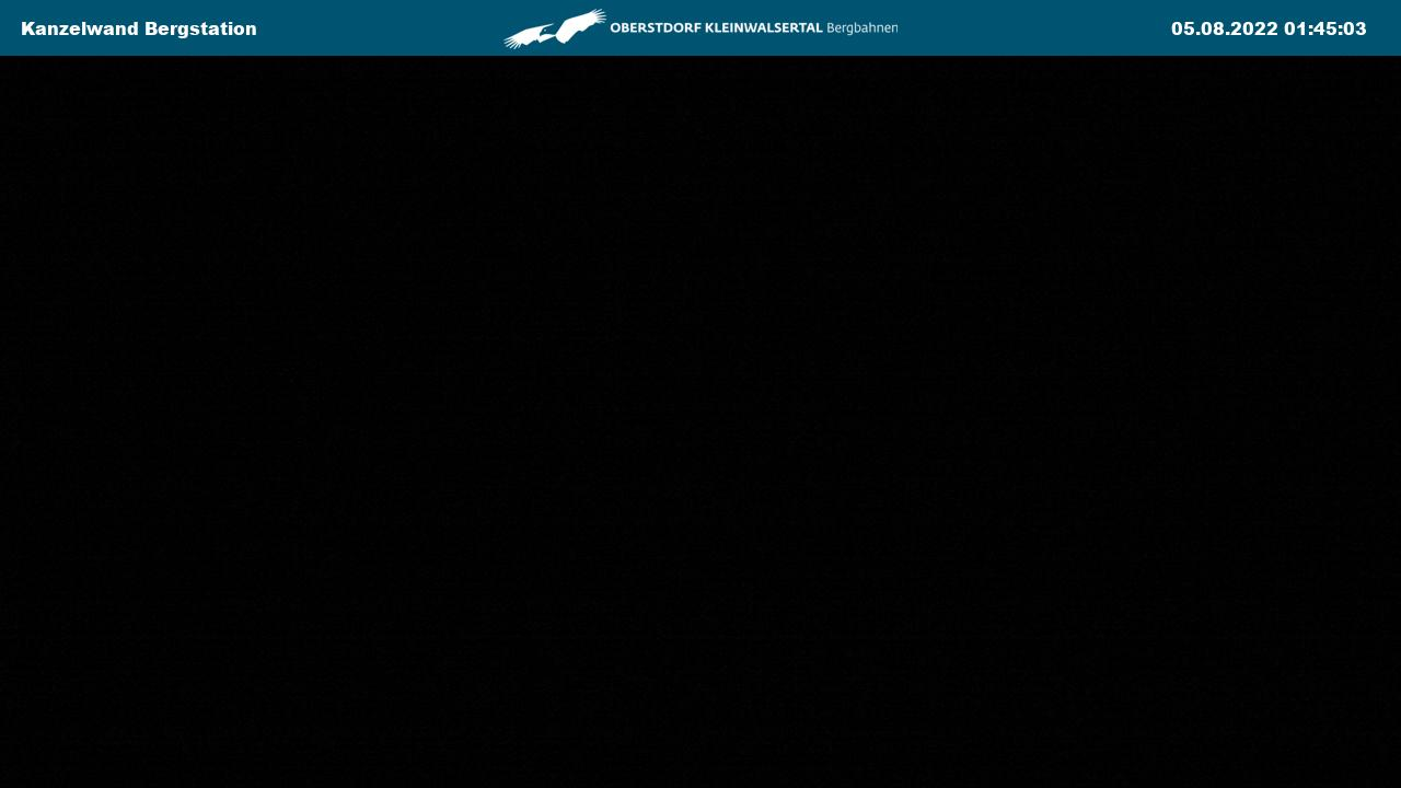 Webcam Kanzelwand Bergstation
