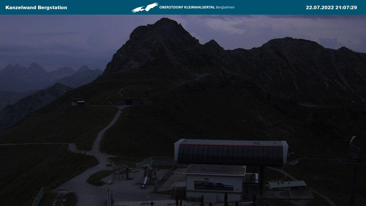 Webcam Kanzelwand