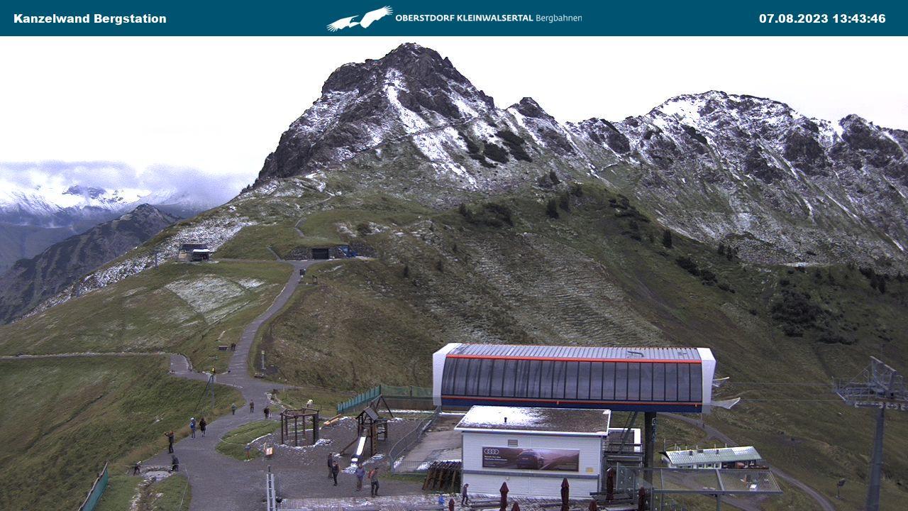 Webcam: Kanzelwand (Kanzelwandbahn)