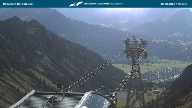 Webcam Nebelhorn-Bergstation