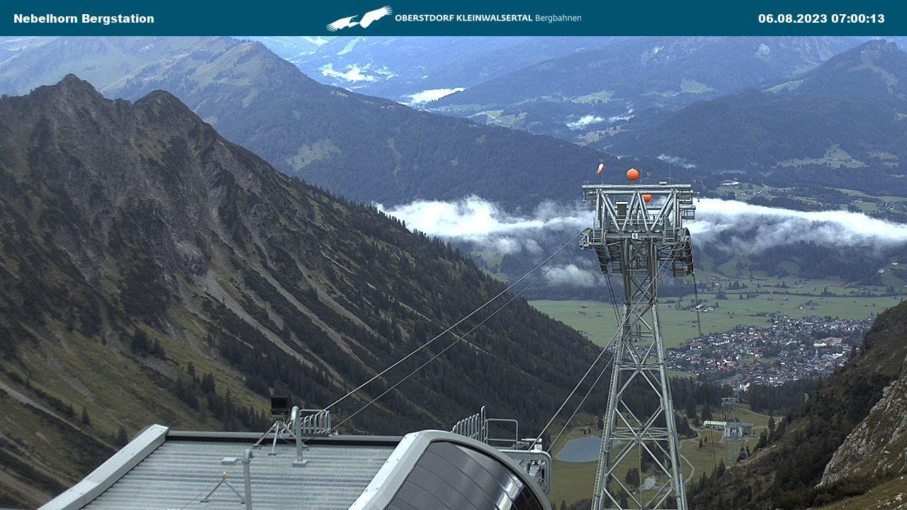 Nebelhorn - Höfatsblick