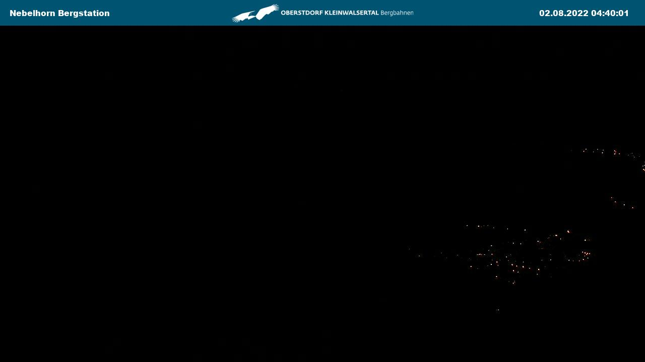 Webcam Nebelhorn-Bergstation