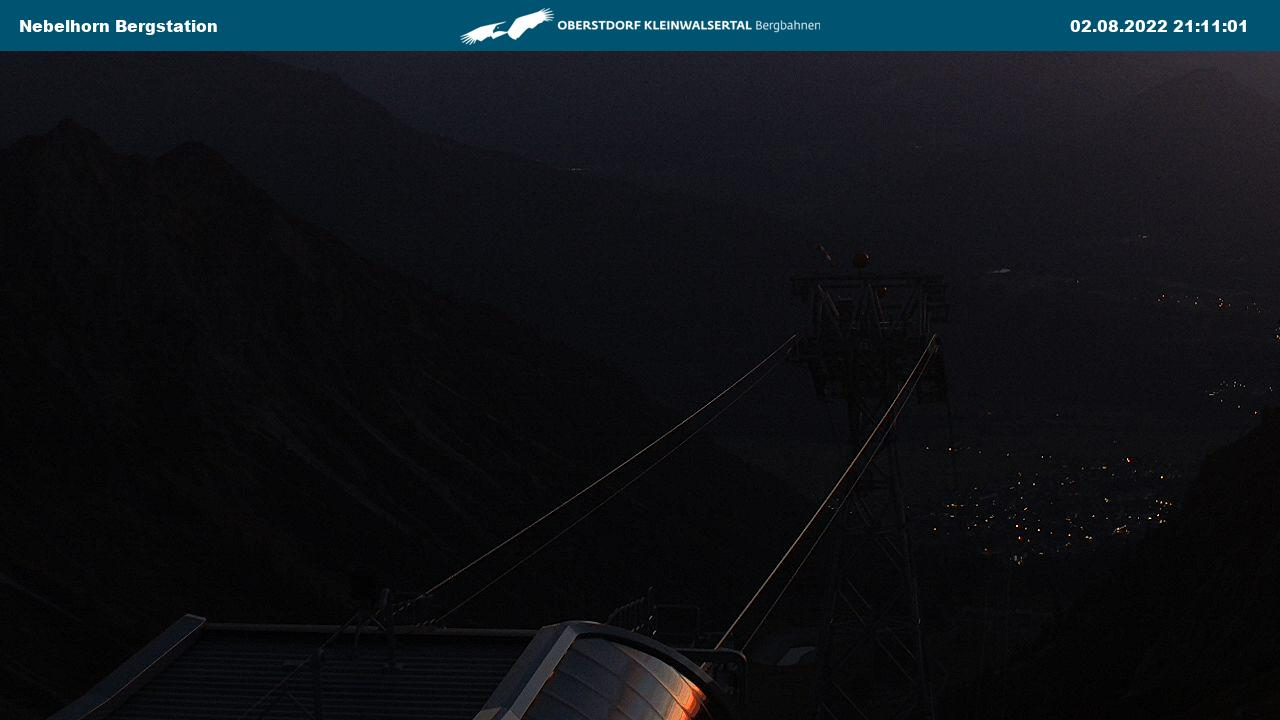 Webcam Nebelhorn, Station Höfatsblick