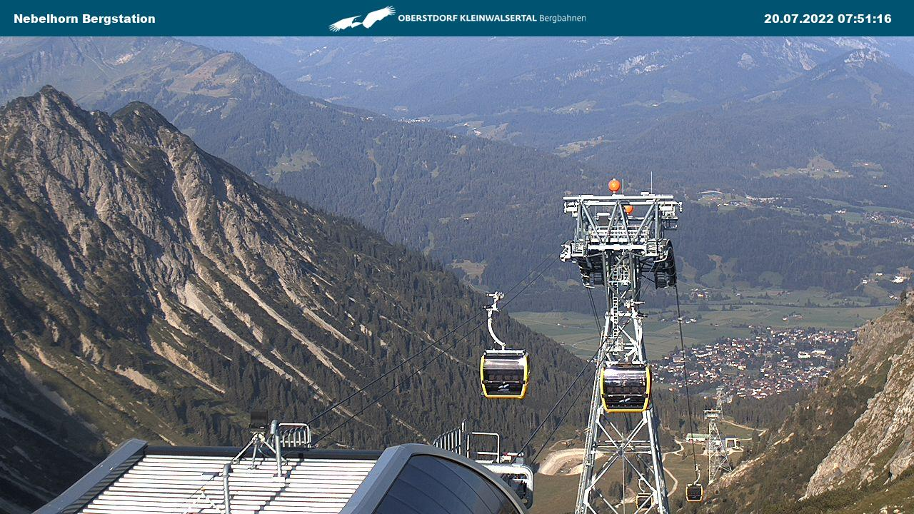 Nebelhorn - Bergstation