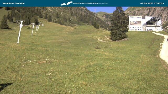 Webcam Nebelhorn-Seealpe