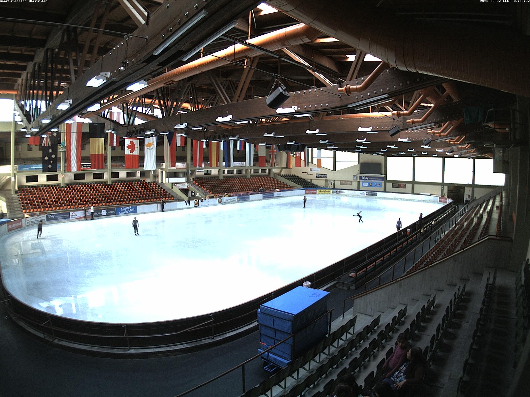 Webcam Eissportzentrum Oberstdorf