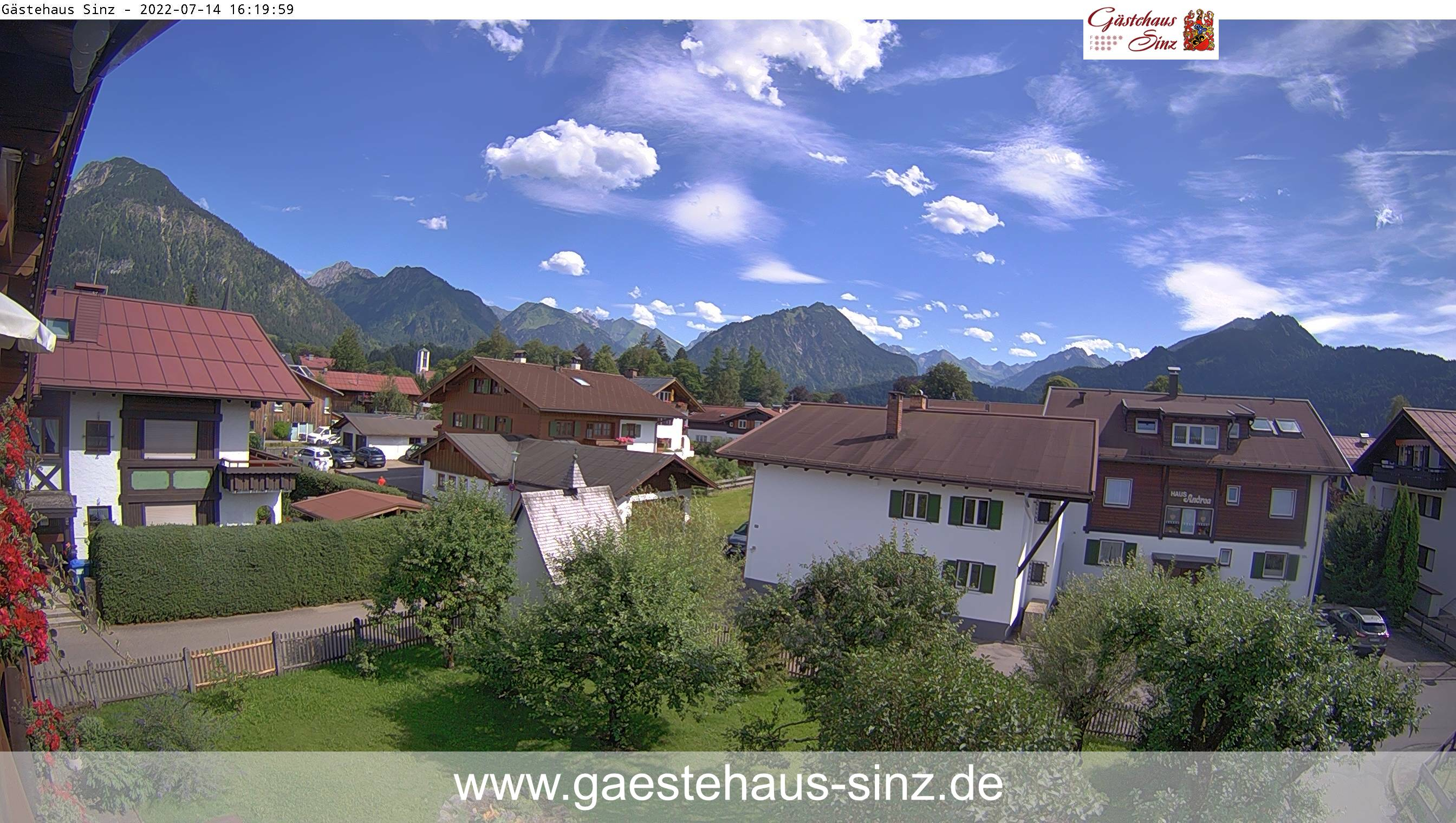 Webcam Haus Sinz