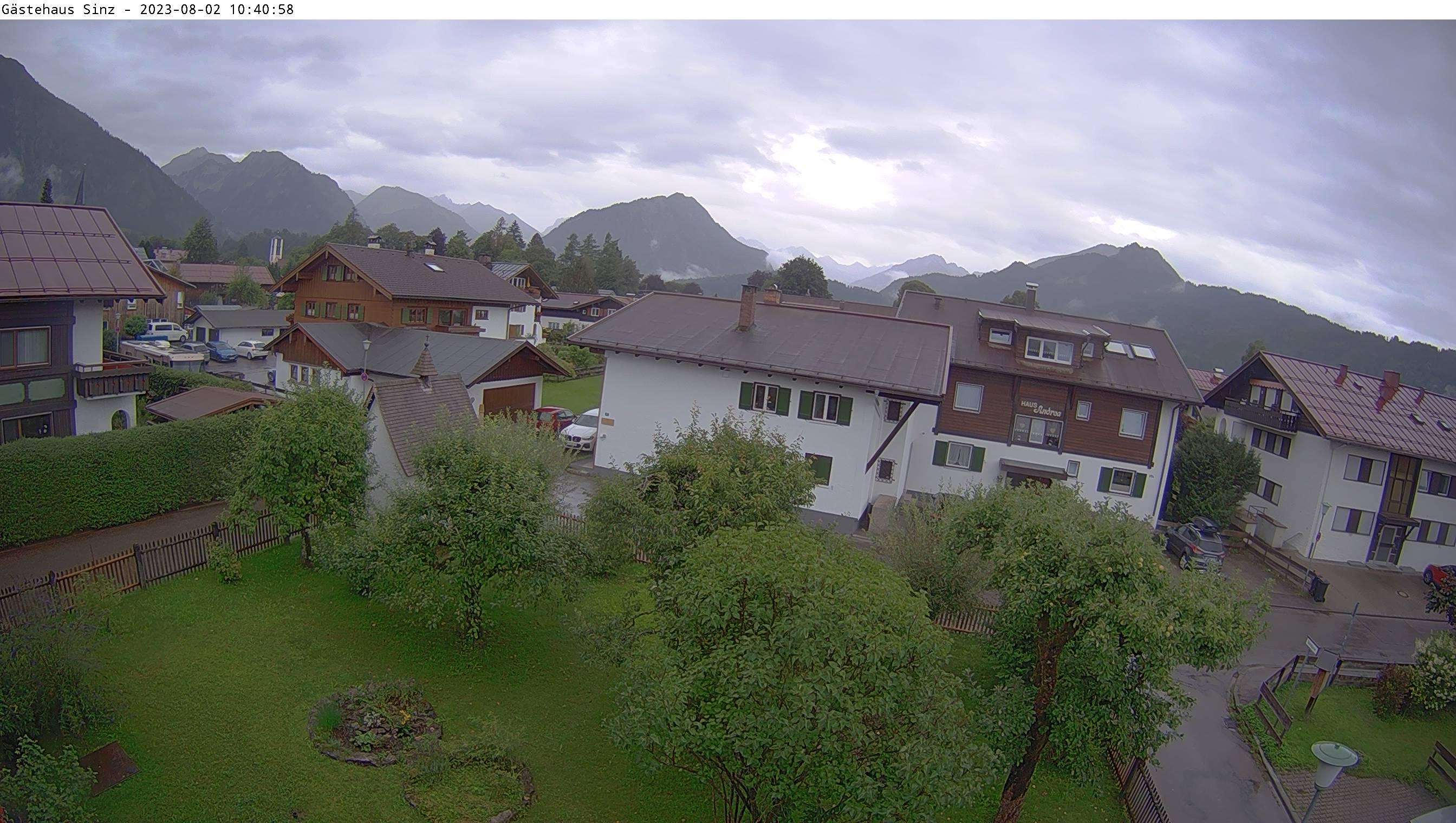 Webcam Gästehaus Sinz