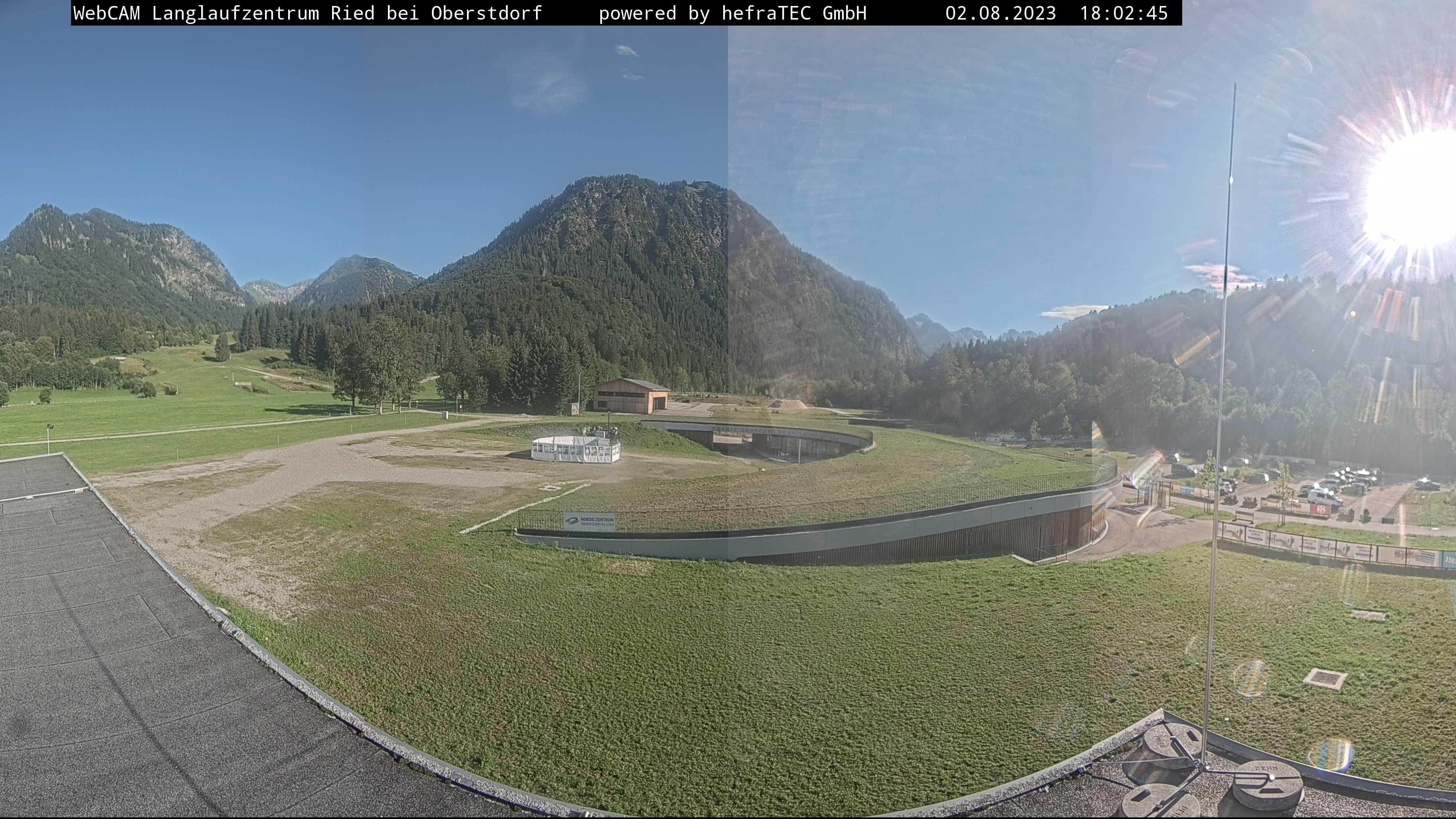 Webcam: Langlaufstadion Ried