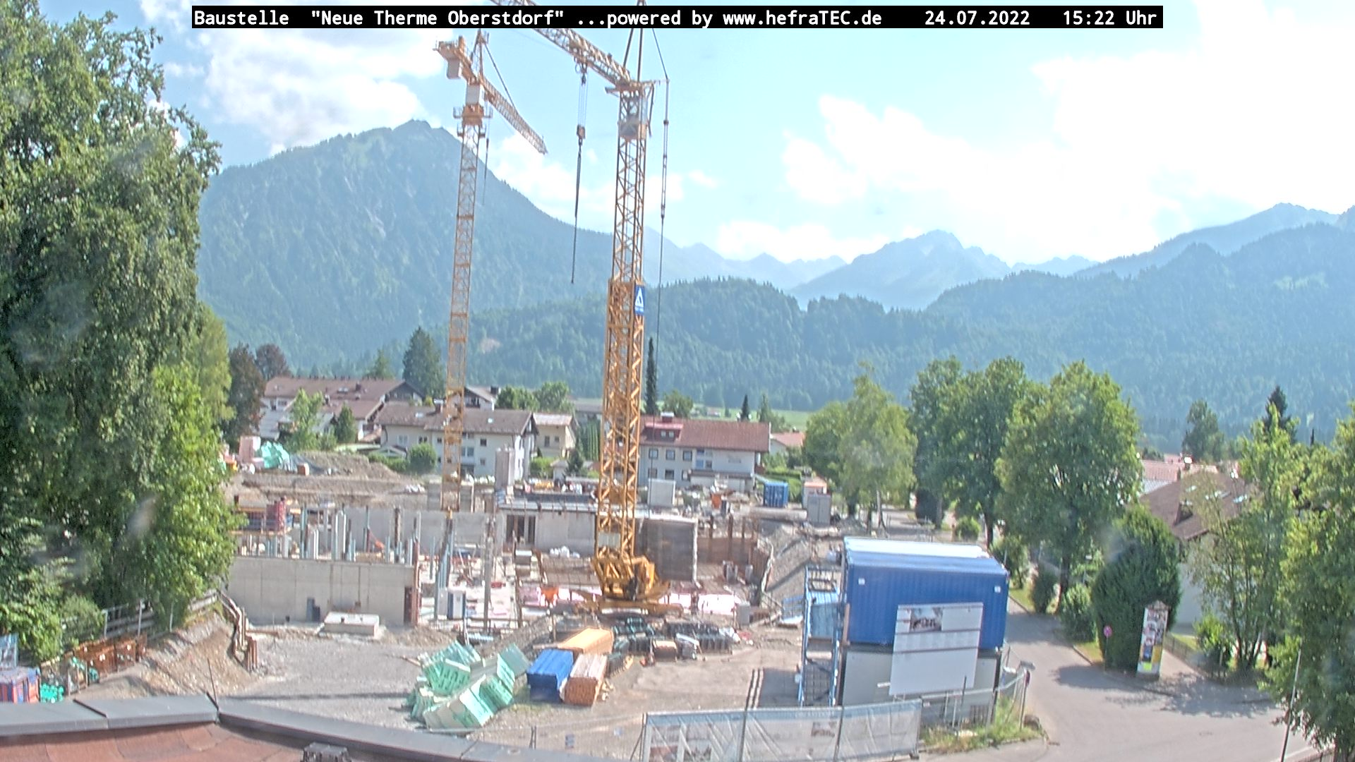 Webcam Oberstdorf Haus