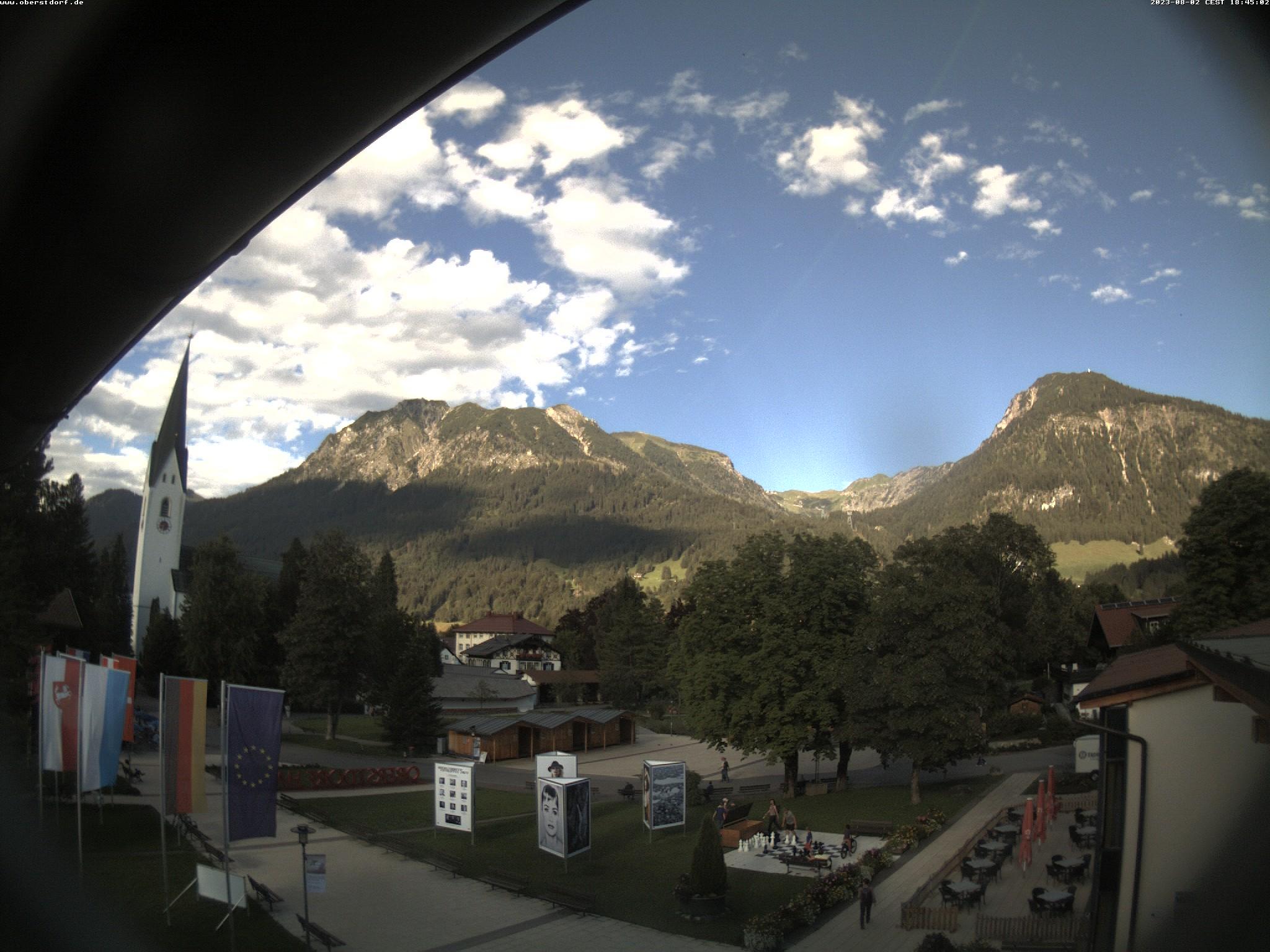 Webcam Kurpark Oberstdorf