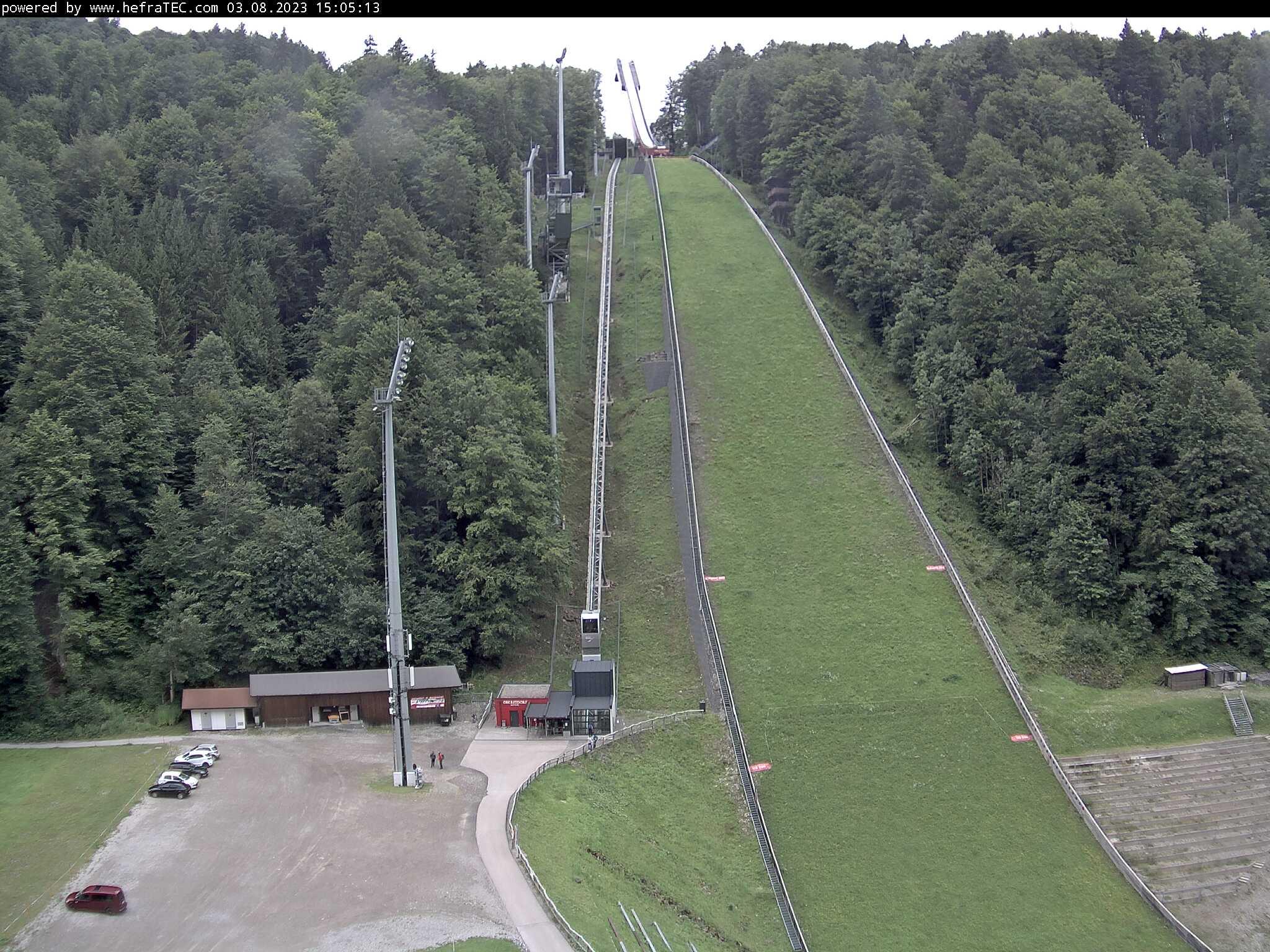 Webcam Heini-Klopfer-Skiflugschanze Tal