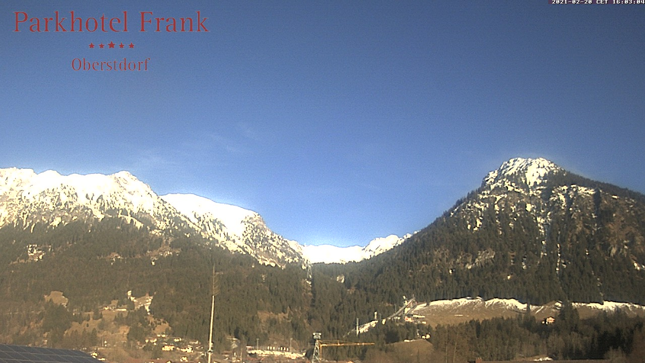 Webcam Parkhotel Frank (LIVE)