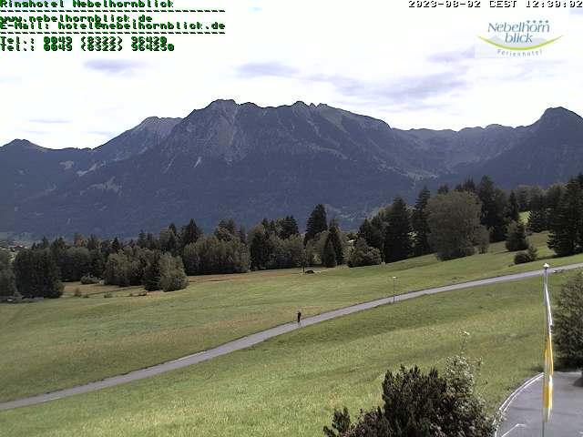 Webcam Nebelhornblick