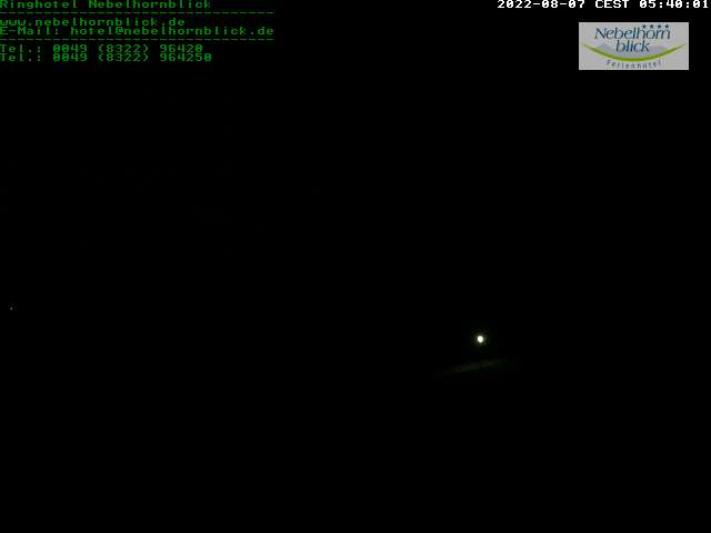 Webcam Nebelhornblick