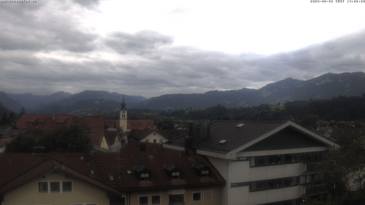 Webcam Rathaus Sonthofen